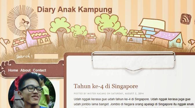 Blog Diary Anak Kampung