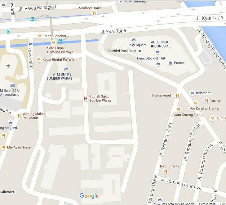 lokasi sumber waras